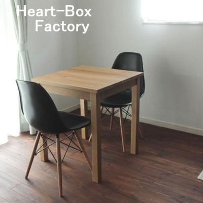 カフェテーブル テーブル 60×60cm おしゃれ ダイニングテーブル スクエア 木製 北欧 オーク材 送料無料