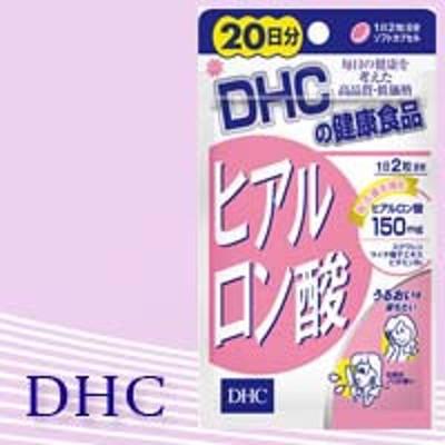 【ヒアルロン酸加工食品】【美容サプリ】DHC ヒアルロン酸 20日分 40粒【代金引換不可/着日指定不可】