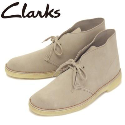 Clarks (クラークス) 26138235 Desert Boot デザートブーツ メンズブーツ Sand Suede CL009