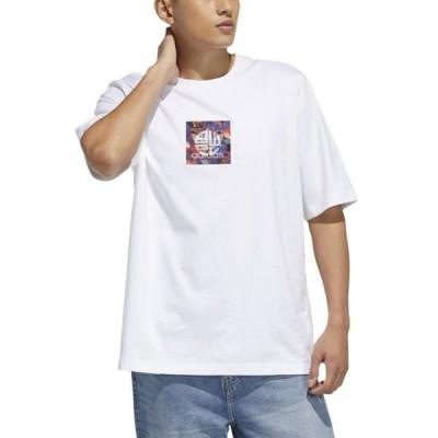 アディダス メンズ Tシャツ トップス adidas Originals CNY Graphic Crew
