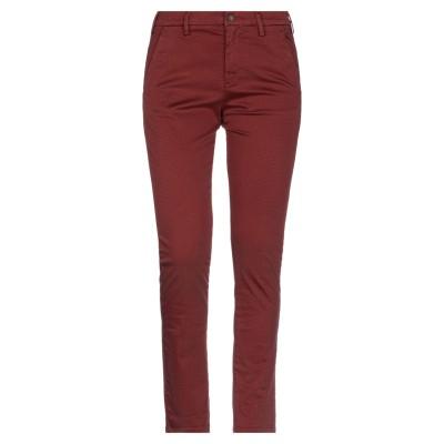 フォーティーウエフト 40WEFT パンツ 赤茶色 38 コットン 98% / ポリウレタン 2% パンツ