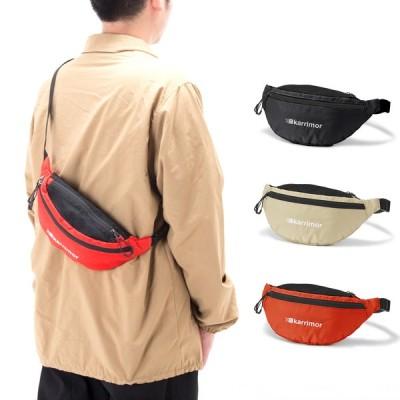 カリマー karrimor バッグ ファニーパック ウエストポーチ ウエストバッグ ボディバッグ メンズ レディース アウトドア ブラック fanny pack 501024