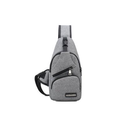 ボディバッグ メンズ ショルダーバッグ 斜め掛けバッグ 2Way ズックバッグ USB充電口 カジュアル 多機能 軽量 収納 伸縮性 通学 通勤 ビジネス 新作 送料無料