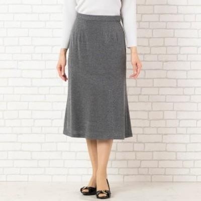 ロブジェ(LOBJIE)/[セットアップ対応] アシンメトリー切替のセミフレアースカート