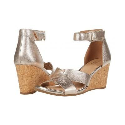 Clarks クラークス レディース 女性用 シューズ 靴 ヒール Margee Gracie - Metallic Leather