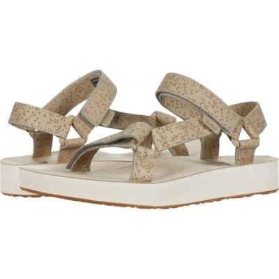 テバ Teva レディース サンダル・ミュール シューズ・靴 Midform Universal Star Plaza Taupe