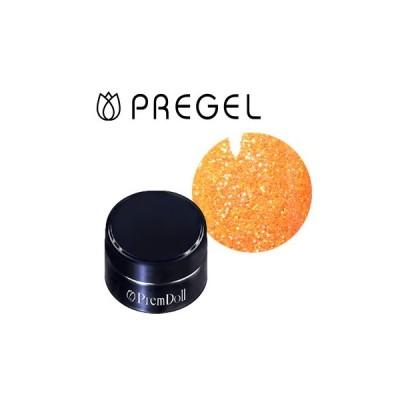 ジェルネイル セルフ カラージェル プリジェル PREGEL プリムドール ブライスコラボレーション DOLL−B23 トウキョウオレンジ 3g