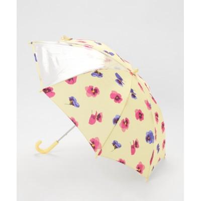 HAKKA / スミレプリント傘 KIDS ファッション雑貨 > 長傘