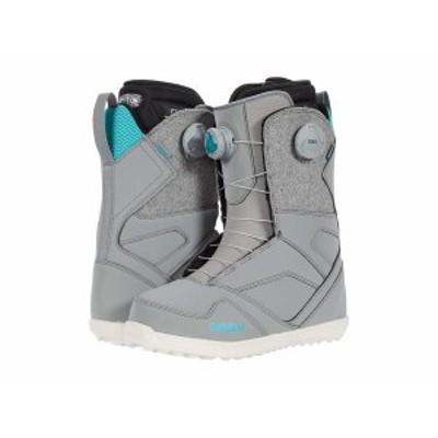 サーティーツー レディース ブーツ・レインブーツ シューズ STW Double BOA Snowboard Boot Grey