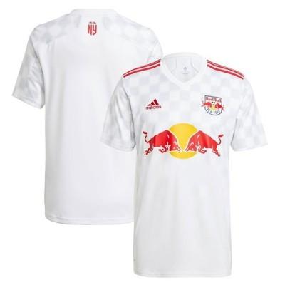 アディダス メンズ Tシャツ トップス New York Red Bulls adidas 2021 1Beat Replica Jersey