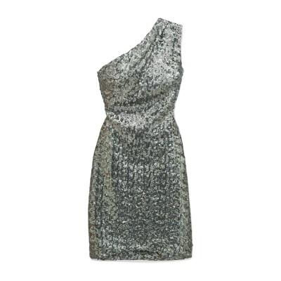 ハニー HANEY ミニワンピース&ドレス シルバー 8 ナイロン 100% ミニワンピース&ドレス