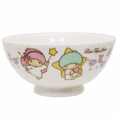リトルツインスターズ キキ&ララ お茶碗 磁器製 ライスボウル スタードリーム サンリオ 日本製 キャラクター グッズ