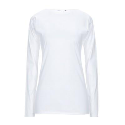 CUCÙ LAB T シャツ ホワイト 46 コットン 100% T シャツ