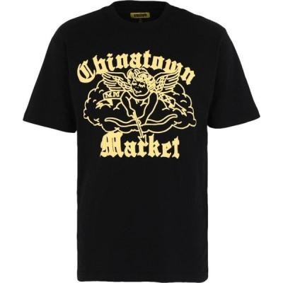 チャイナタウンマーケット CHINATOWN MARKET メンズ Tシャツ トップス Cherub Tee Black