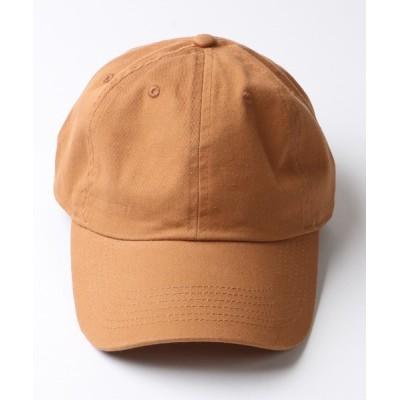 FREAK'S STORE / WEB限定 NEWHATTAN/ニューハッタン ウォッシュドツイル/デニム 6パネル ベースボールキャップ MEN 帽子 > キャップ