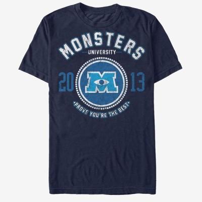 モンスターズインク Tシャツ ディズニー Disney モンスターズユニバーシティー 半袖 レディース メンズ
