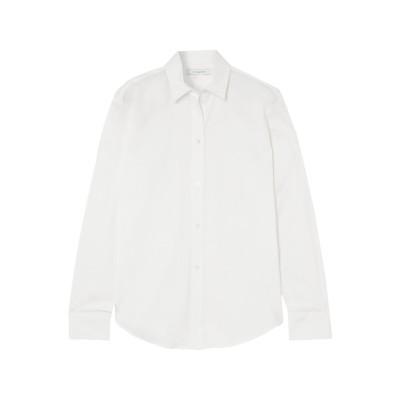 LA COLLECTION シャツ ホワイト 1 コットン 74% / ナイロン 21% / ポリウレタン 5% シャツ