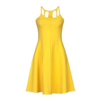 ディースクエアード DSQUARED2 ミニワンピース&ドレス イエロー XS レーヨン 70% / ポリエステル 30% ミニワンピース&ドレス