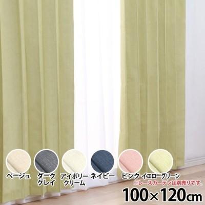 カーテン おしゃれ 安い 遮光 1級 IPポジション 幅100cm×丈120cm×2枚組み (D)
