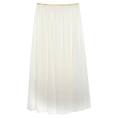 SWEET SECRETS 7分丈スカート アイボリー 42 ポリエステル 100% 7分丈スカート