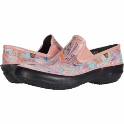 ボグス Bogs レディース スリッポン・フラット シューズ・靴 Patch Slip-On Marble Coral