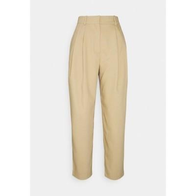 ウィークデイ カジュアルパンツ レディース ボトムス ZINC TROUSER - Trousers - beige