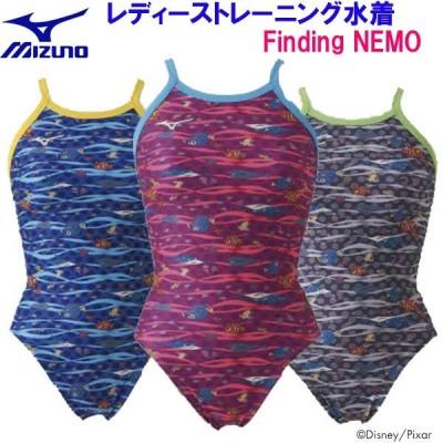 ミズノスイム レディーストレーニング水着 ミディアムカット Finding NEMO  N2MA9288   SALESW