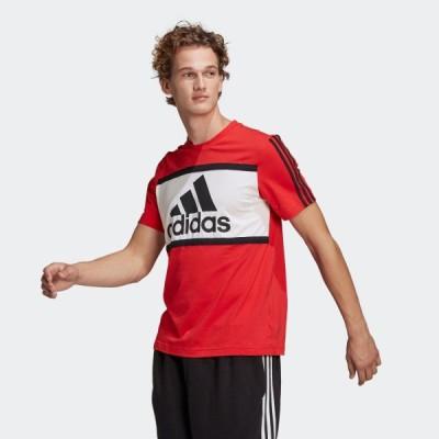 返品可 アディダス公式 ウェア トップス adidas エッセンシャルズ ロゴ カラーブロック Tシャツ / Essentials Logo Colorblock Tee 半袖 eoss21ss