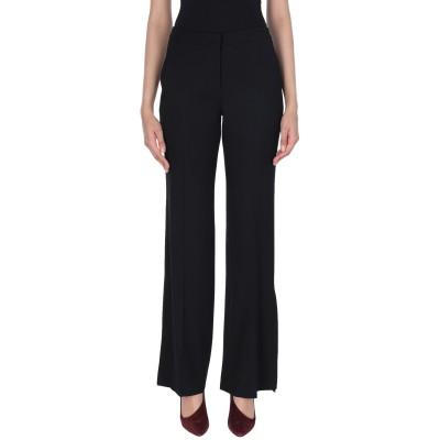 インコテックス INCOTEX パンツ ブラック 40 レーヨン 55% / ウール 45% パンツ