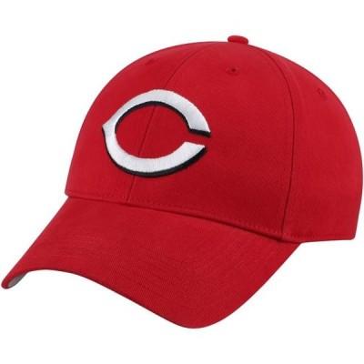 ユニセックス スポーツリーグ メジャーリーグ Cincinnati Reds Fan Favorite Basic Adjustable Hat - Red - OSFA 帽子