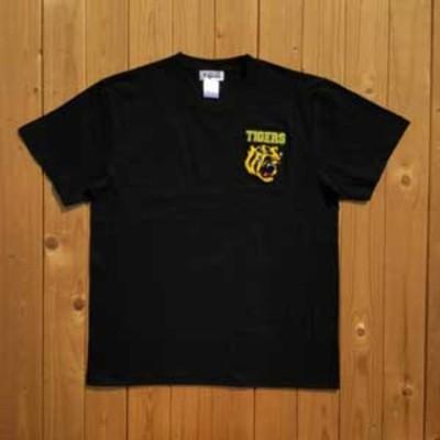 VMC 阪神タイガース承認 虎相楽刺繍Tシャツ(ブラック・メンズ・サイズ:XL) Tigers37 139015 【返品種別A】