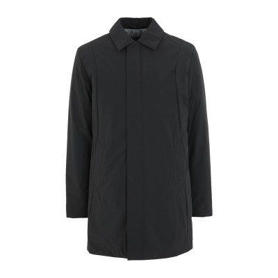 SELECTED HOMME コート ブラック S ナイロン 90% / ポリウレタン 10% コート