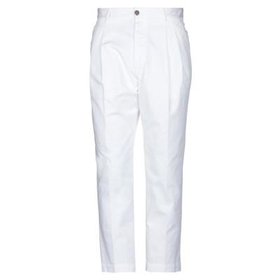 ディースクエアード DSQUARED2 パンツ ホワイト 48 コットン 97% / ポリウレタン 3% パンツ