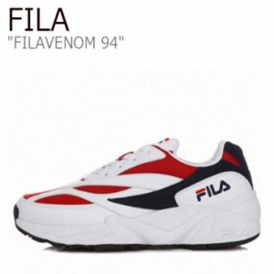 フィラ スニーカー FILA メンズ レディース FILAVENOM 94 フィラヴェノム94 WHITE RED ホワイト レッド FS1HTA3031X シューズ