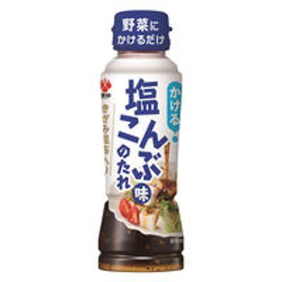 盛田かける 塩こんぶ味のたれ 235g 1本 盛田 塩昆布