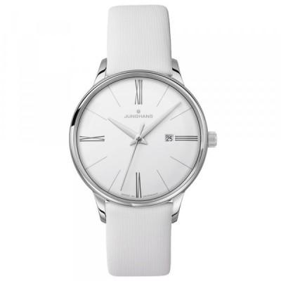 ユンハンス JUNGHANS マイスター 047 4569 00 シルバー文字盤 新品 腕時計 レディース