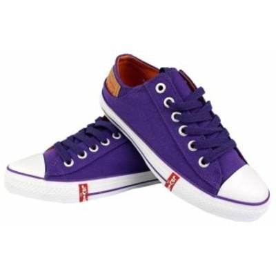 Levis リーバイス ファッション シューズ Levis Mens Classic Premium Casual Sneakers Shoes Buck Lo Twill 514887-32L