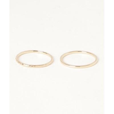 指輪 【WEB限定】K10リングセット