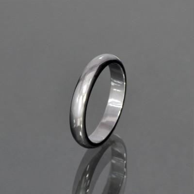 指輪 タングステン シンプルな甲丸リング 幅4.0mm 銀色 シルバー|Tungsten アクセサリー レディース メンズ