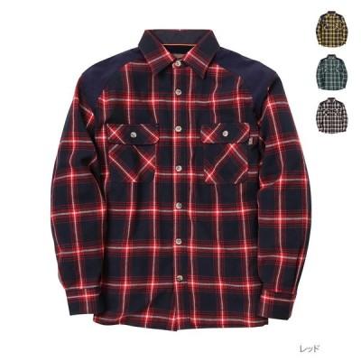 長袖シャツ チェックシャツ シャツ 長袖 メンズ チェック グランドキャニオン アウトドア