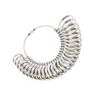 Cnstzbc リングゲージ 日本標準規格 1号-28号対応 指輪 さいず 計測 プロ仕様 プロの宝石商監修 指輪 ゲージ リング サイズゲ