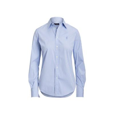 POLO RALPH LAUREN シャツ スカイブルー 2 コットン 83% / ナイロン 13% / ポリウレタン 4% シャツ