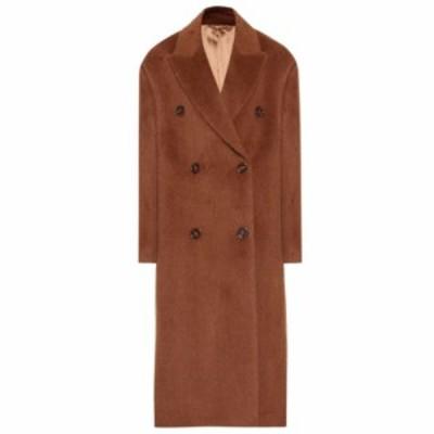 アクネ ストゥディオズ Acne Studios レディース コート アウター Alpaca and wool coat Caramel Brown