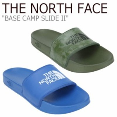 ノースフェイス サンダル THE NORTH FACE BASE CAMP SLIDE II ベース キャンプ スライド II KHAKI BLUE NS98J82A/B シューズ