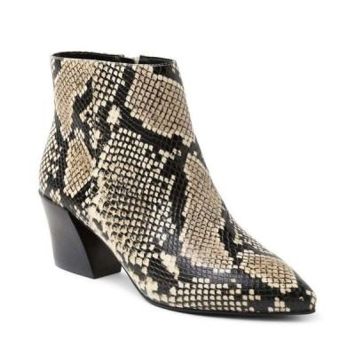 ケンジー kensie レディース ブーツ ブーティー シューズ・靴 Leticia Ankle Booties Chestnut Snake