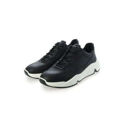 エコー ECCO ECCO CHUNKY SNEAKER M Shoe (BLACK)