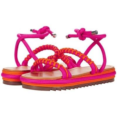 Schutz Claire レディース サンダル Paradise Pink/Bright Tangerine