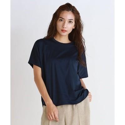 tシャツ Tシャツ ≪綿100%≫アルビニスムース クルーネックTシャツ
