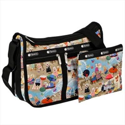 ◎◎レスポートサック バッグ ショルダーバッグ LESPORTSAC Deluxe Everyday Bag 7507  E183 Caturday    比較対照価格15,950 円