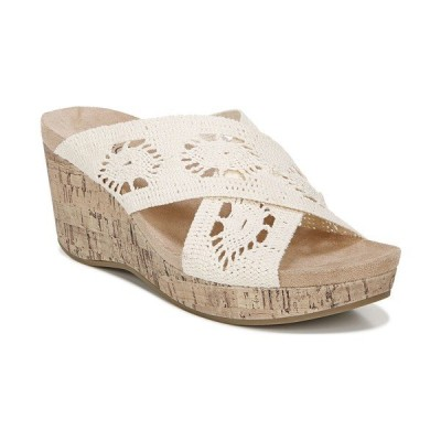 ライフストライド サンダル シューズ レディース Donna Slide Sandals Natural Crochet